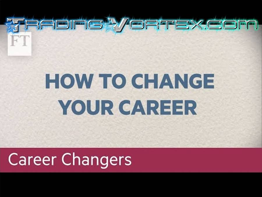 How To Change Your Career